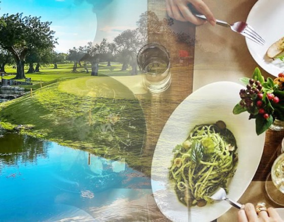 golf-and-eat-out-in-restaurant
